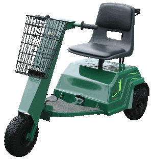 Pennine Driver / Driver Plus, three-wheel golf carts / golf buggies