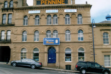 Pennine Radio Ltd building - the home of British bespoke quality manufacturing