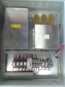 Electrical & Electronic Assembly - Control cabinet wiring