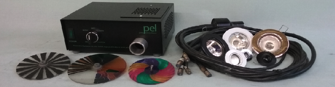 Fibre optic lighting components